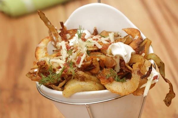 All Dressed Spicy Potato Spirals Recipe