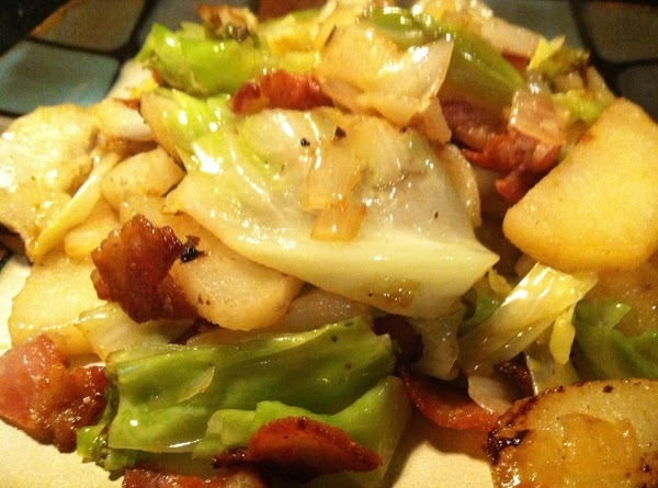 Potatoes, Cabbage N Bacon Recipe