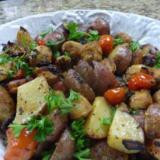 Skillet Sausage 'n Potatoes