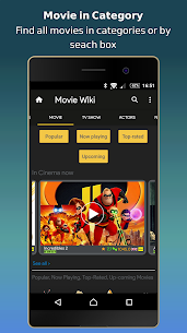 Movie Wiki –  Trailers – TV Show – Film & Cinema  App Download For Android and iPhone 1