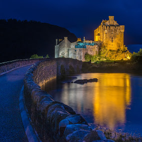 by Jim Keating - Buildings & Architecture Public & Historical ( scotland, sea, night,  )