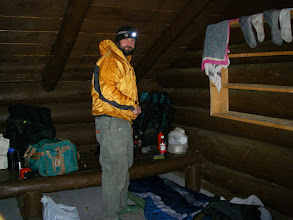 Photo: Lean-to living.