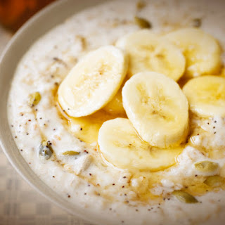 Heart Warming Honey and Banana Porridge.