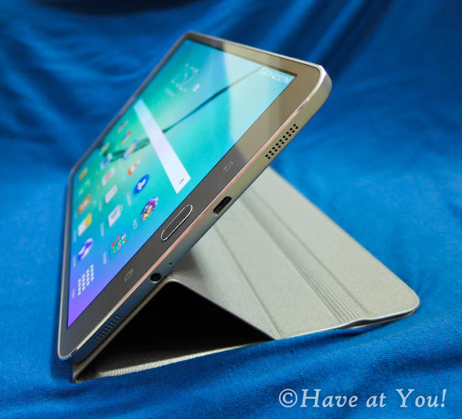 tablet cover converted into a stand