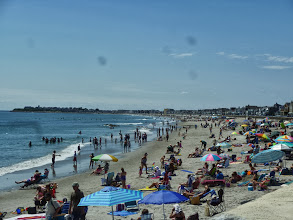 Photo: 20130812 Day 55 Manchester NH to Portsmouth NH  Beautiful day at Hampton Beach