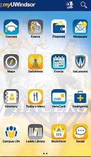 myUWindsor Mobile - náhled