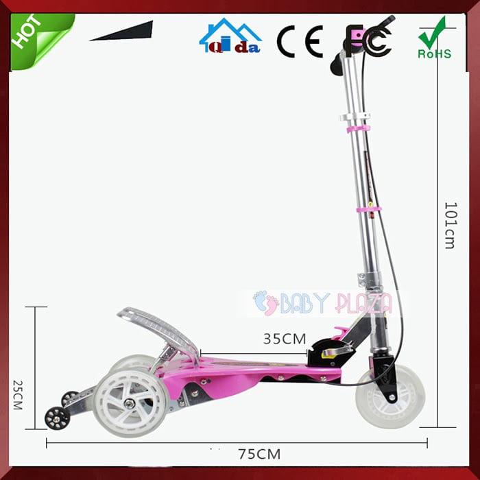 Xe trượt scooter có bàn đạp cho bé Q8 4