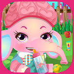 Baby Elephant Care Kids Game 3.0 Apk
