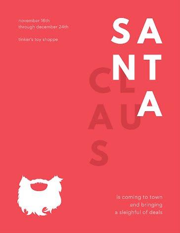 A Sleighful of Deals - Christmas Template