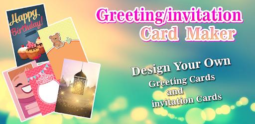Greetinginvitation card maker apps on google play stopboris Choice Image