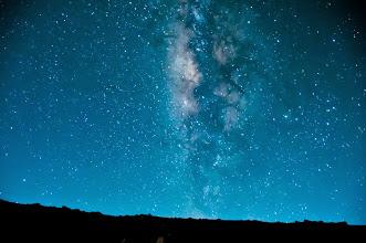 Photo: Stars from the summit ofHaleakala.