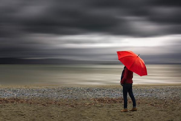 In rosso nella pioggia di enmaster