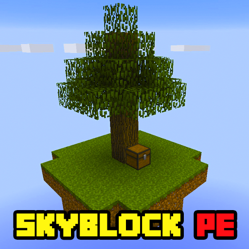 Map Skyblock for MCPE for PC