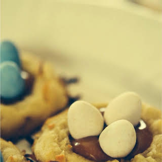 Birds Nest Cookies.