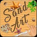 Sand Art Photo Editor - Drawing pad, draw, sketch icon
