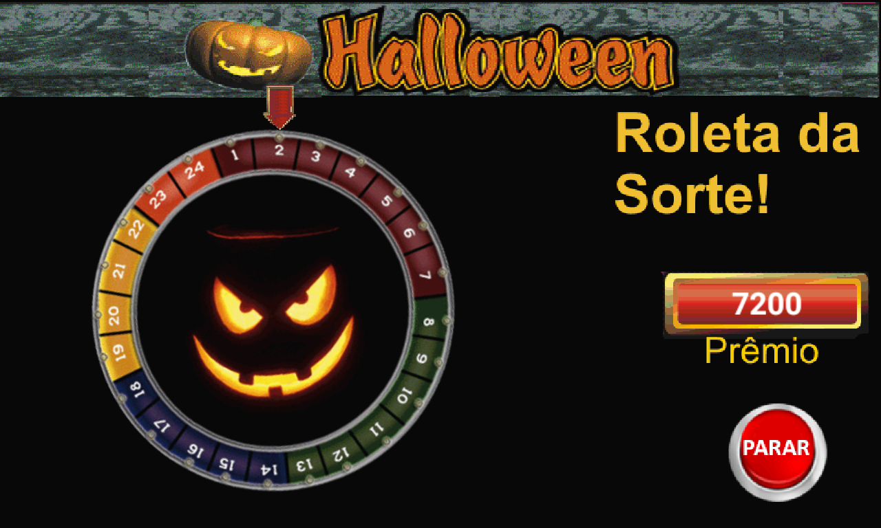 Halloween caca niquel jogar