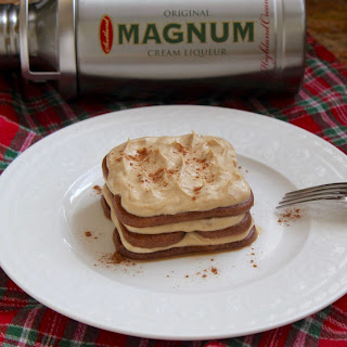 A Speculoos Cookie and Magnum Cream Liqueur Dessert That's Just a Wee Bit Dangerous.