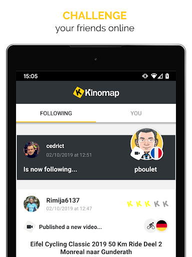 Kinomap - Indoor training videos screenshots 10
