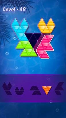 ブロック!三角形パズル:タングラムのおすすめ画像1