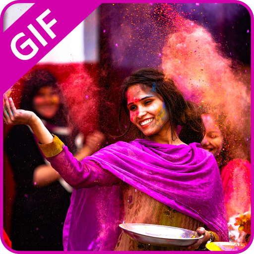 Happy Holi GIF