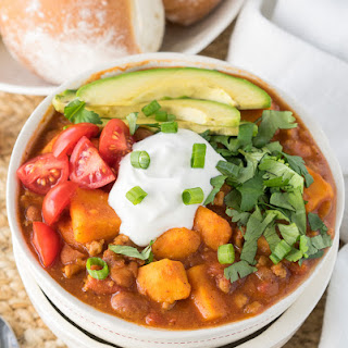 Slow Cooker Sweet Potato Turkey Chili Recipe