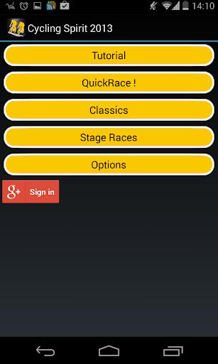 Cycling Spirit 2013 screenshot