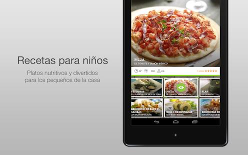 Nestlé Cocina. Recetas y Menús- screenshot thumbnail