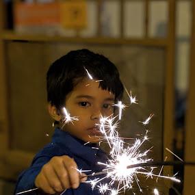 The sparkles by Nilkamal Laskar - Babies & Children Children Candids ( sparkle, children, candid, children candids, low light,  )