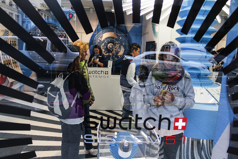 Swatch Shop in San Francisco di Luciano Tassone