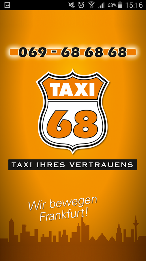 Taxi 68 - Frankfurt- screenshot