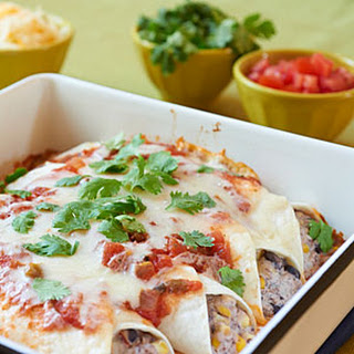 Black Bean Burrito Bake