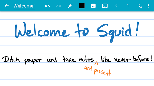 Squid - Take Notes & Markup PDFs 3.4.7.0-GP screenshots 1
