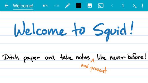 Squid - Take Notes & Markup PDFs 3.5.3.2-GP screenshots 1