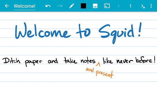 Squid: Take Notes, Markup PDFs Premium v3.4.9.2-GP Cracked APK 1