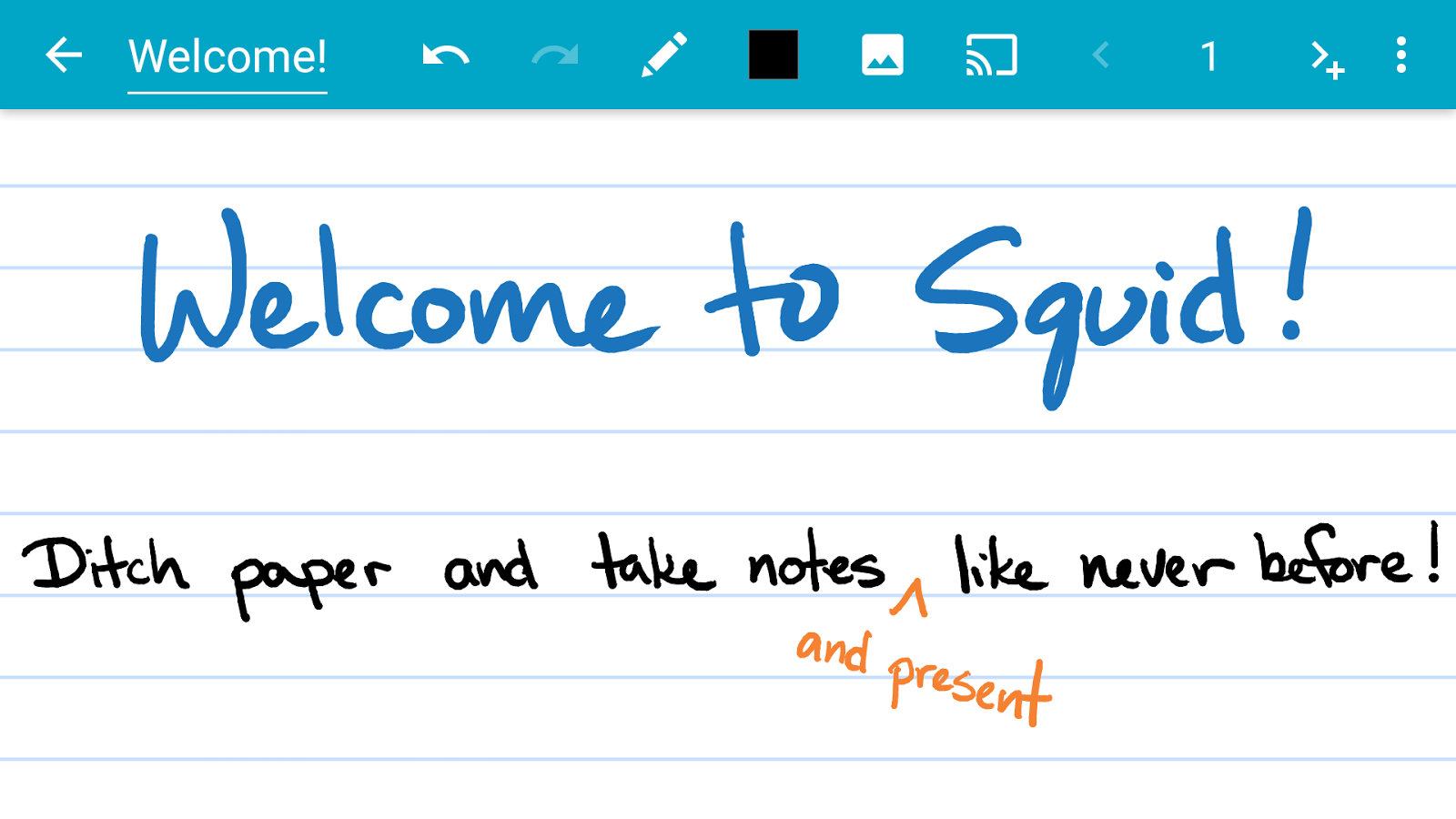 Squid: Take Notes, Markup PDFs- screenshot