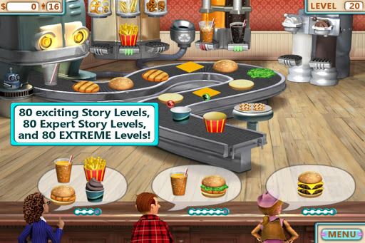 Burger Shop - Free Cooking Game apkpoly screenshots 1