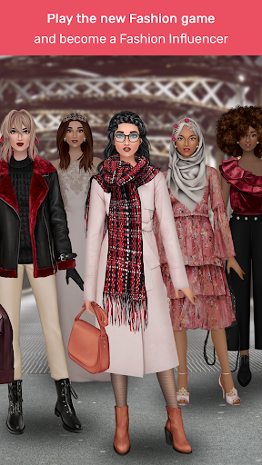 Trendy Stylist - Fashion Game 👠💄  captures d'écran 1