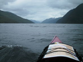 Photo: Heading north up Graham Reach.