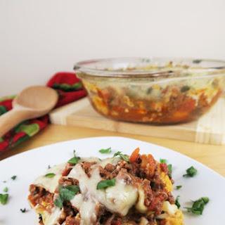 Roasted Cauliflower Beef Marinara (Low Carb, Gluten-Free) Recipe