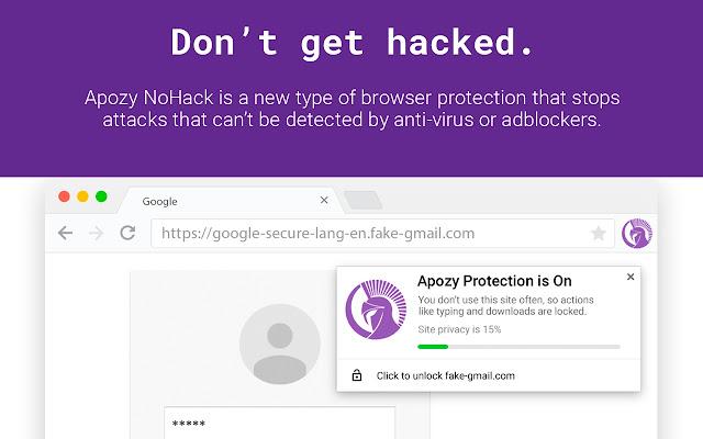NoHack by Apozy