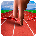 Finger Running Track 3D icon