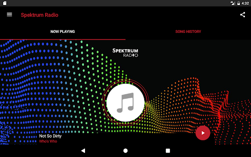 Spektrum Radio- screenshot thumbnail