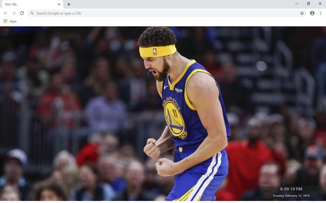 Klay Thompson NBA New Tab