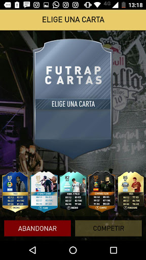 Fut Rap Cartas 1.0.0 screenshots 3