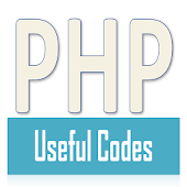 PHP Useful Codes