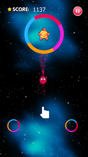 Color Space Switch - Jump Ball & Rushing Ball Game  captures d'u00e9cran 1