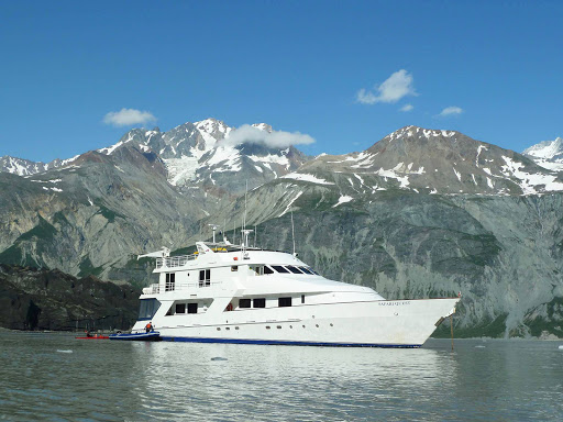 Safari_Quest_in_Alaska.jpg - Safari Quest moored in Alaska's Inside Passage.