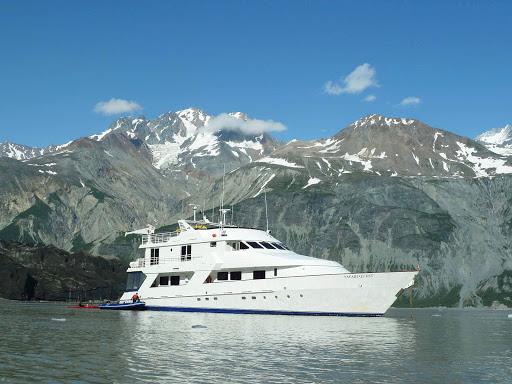 Safari Quest moored in Alaska's Inside Passage.