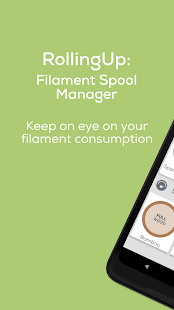 RollingUp: Filament Spool Manager for 3D printing