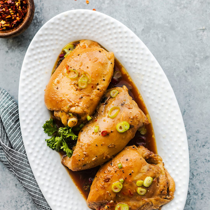 Slow Cooker Chicken with Thai Sweet Chili Sauce Recipe